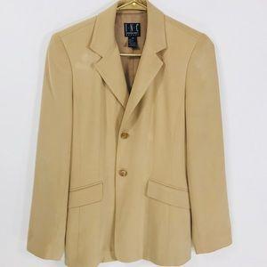 INC petite 4P woman's tan blazer